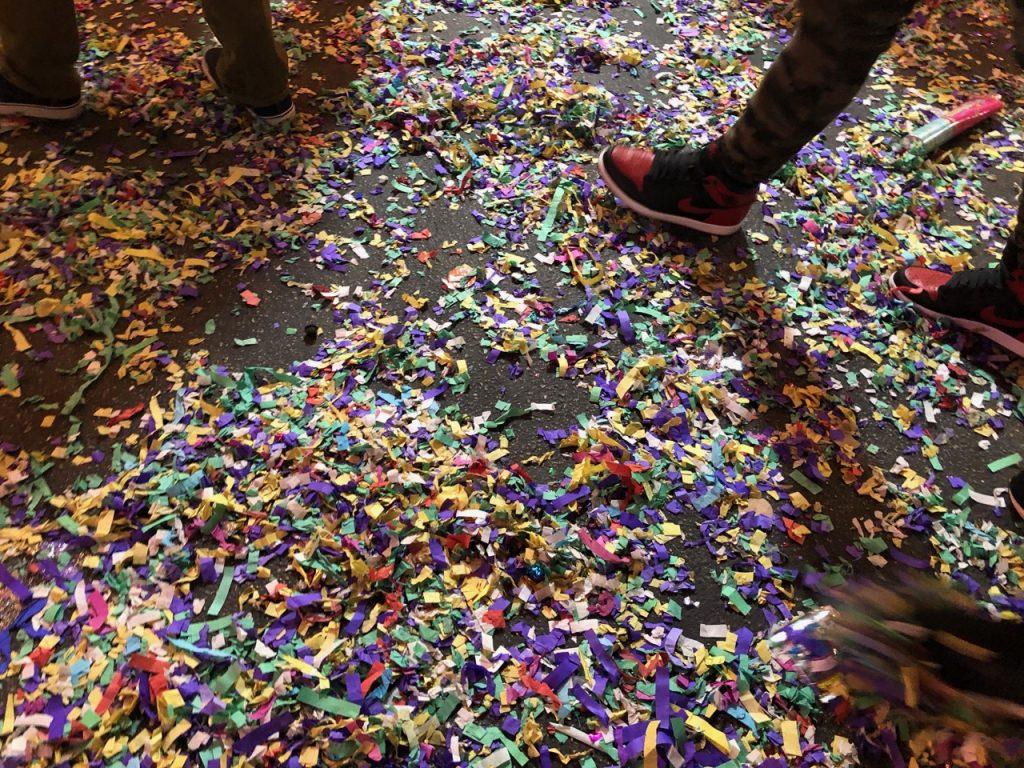 Chinese New Year LA - Confetti