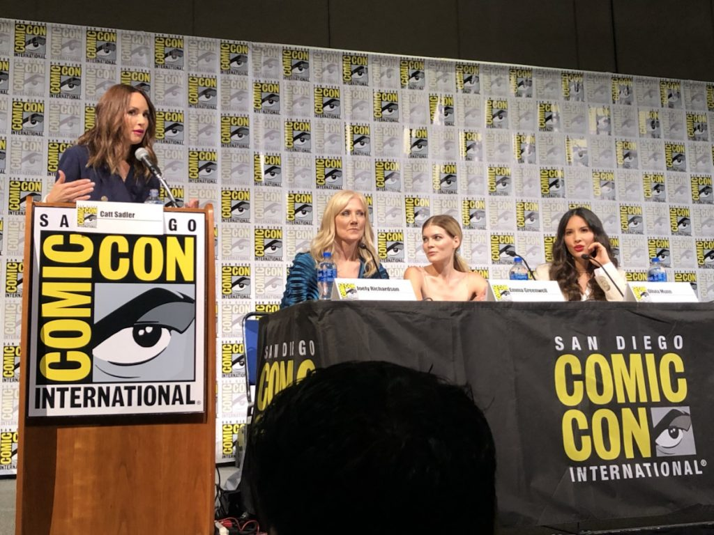 The Rook Panel at 2019 Comic Con