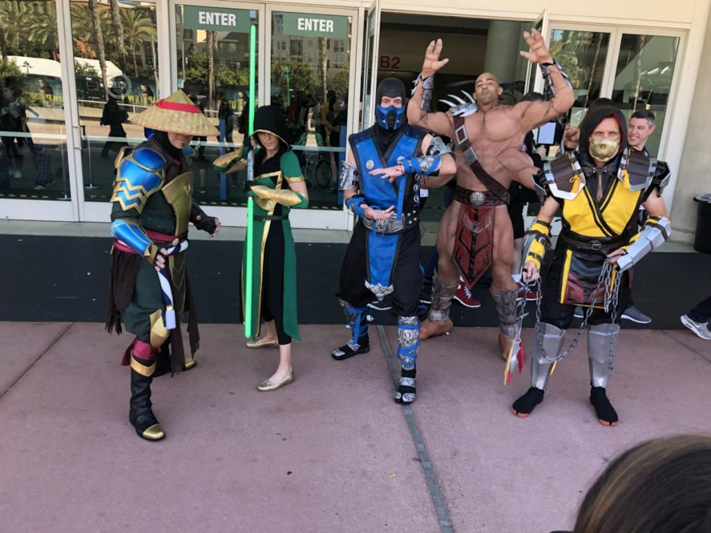 Mortal Combat at 2019 Comic Con