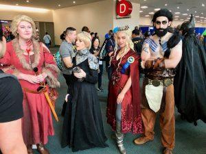 Comic Con 2019 - Game of Thrones Costumes