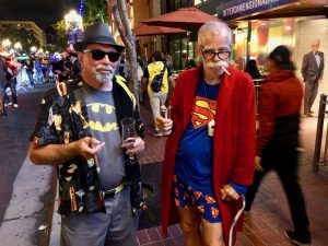 Comic Con 2019 - Retired Superman and Batman