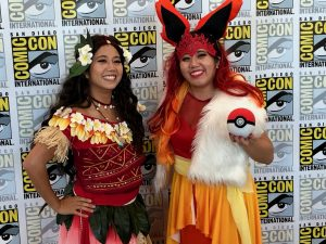 Comic Con 2019 - Moana & Pokemon