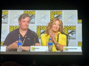 Comic Con 2019 - Simpsons Panel writers and producers