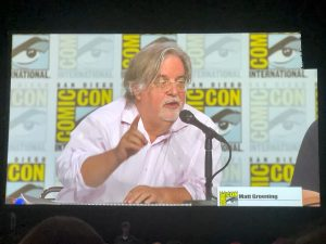 Comic Con 2019 - Simpsons Panel - Creator Matt Groening