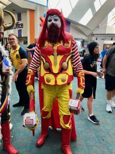 Comic Con 2019 - Mcdonalds Thor