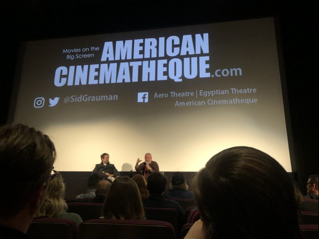 terry gilliam speaks at don quixote screening