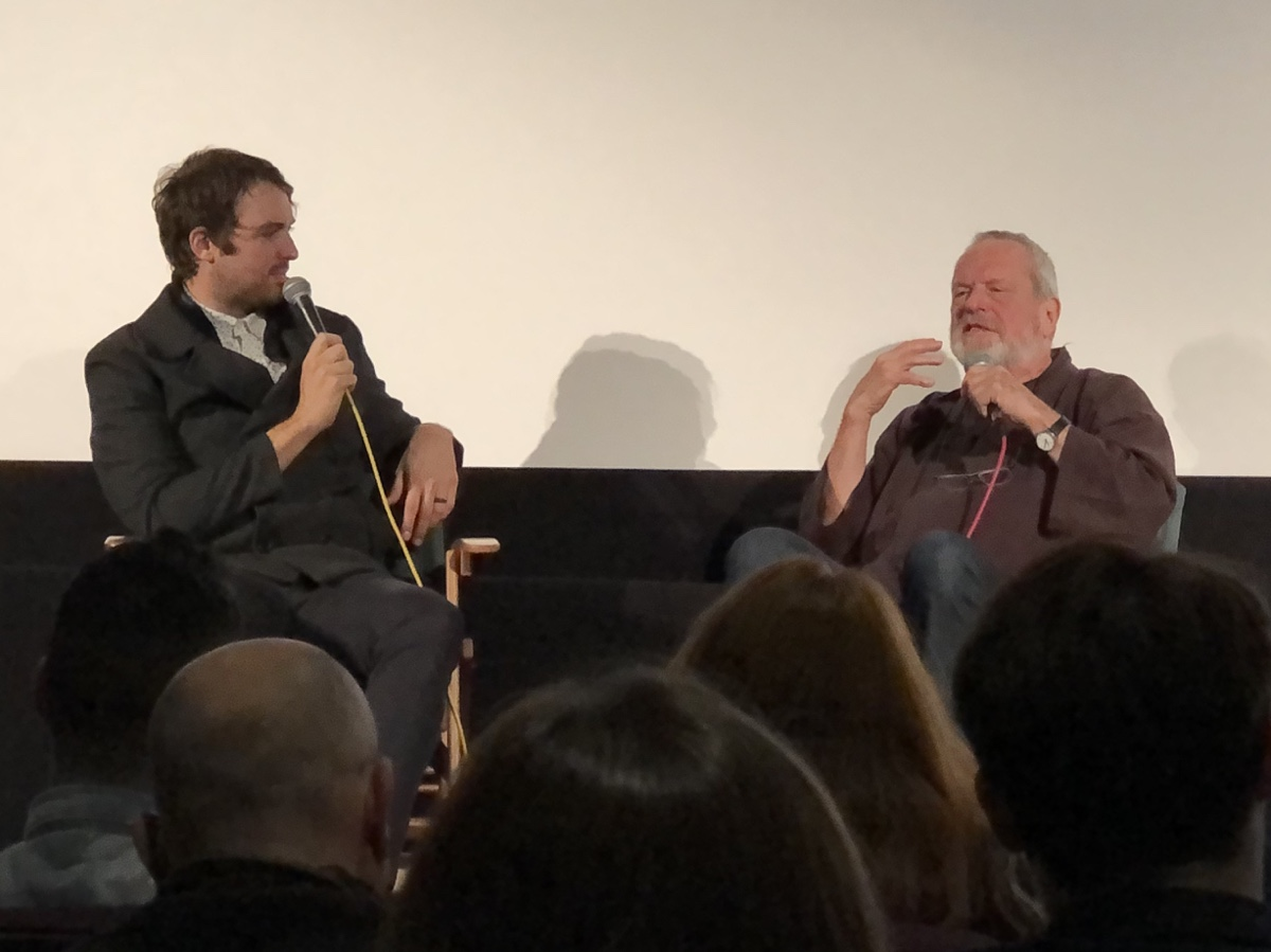 terry gilliam speaks at screening of don quixote