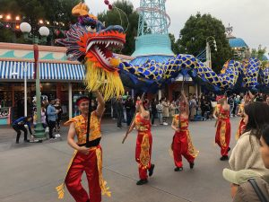 Disneyland Adventure - Chinese New Year (year of the mouse)