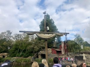 Disneyland Adventure - Boat to Pirate Island