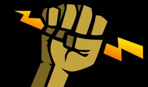 Calyx Institute Logo (lightning fist)