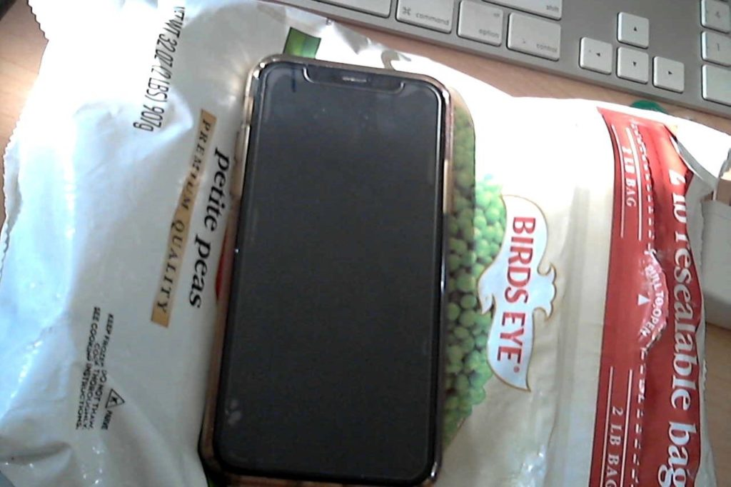 iPhone Peas