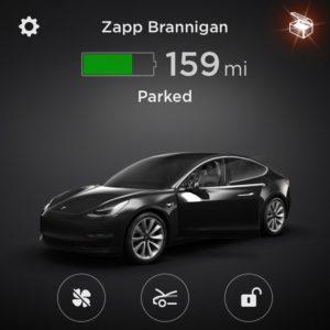 Zapp Brannigan - Tesla App
