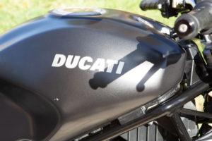 be3n Ducati tank
