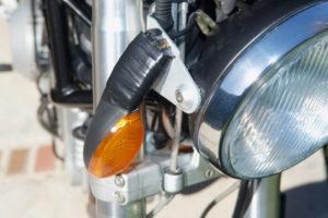 be3n Ducati broken right signal
