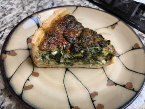 pi day quiche