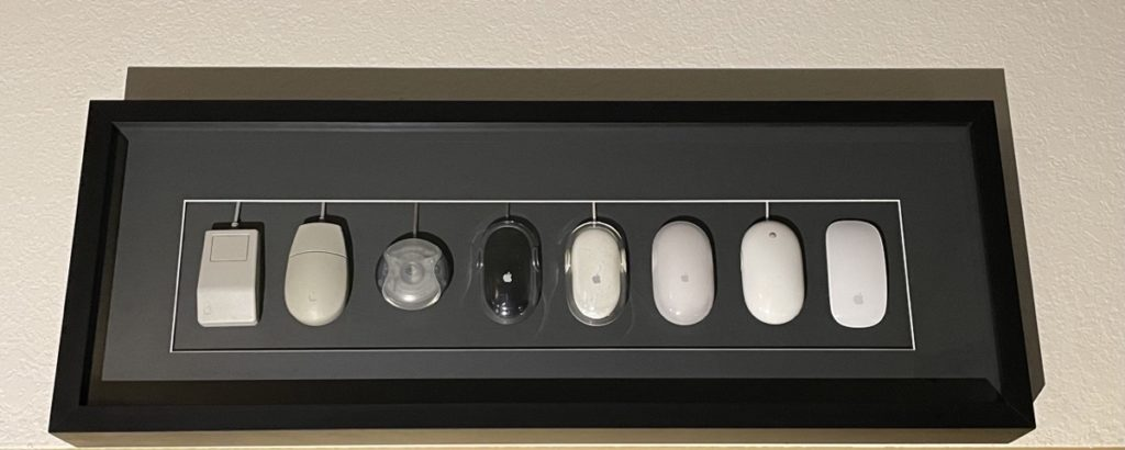 Apple Mouse Shadowbox