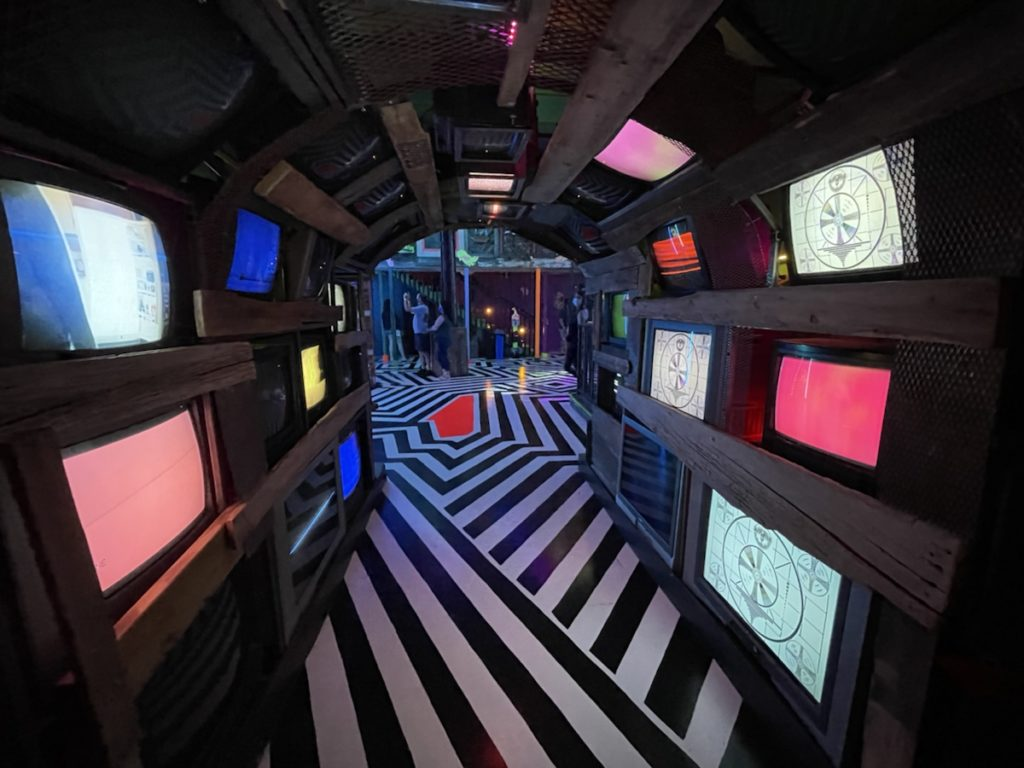 Meow Wolf - CRT Tunnel
