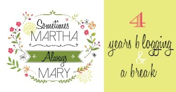 4 years blogging & a break