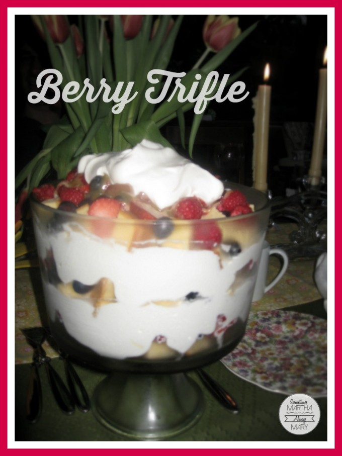 Berry Trifle Graphic