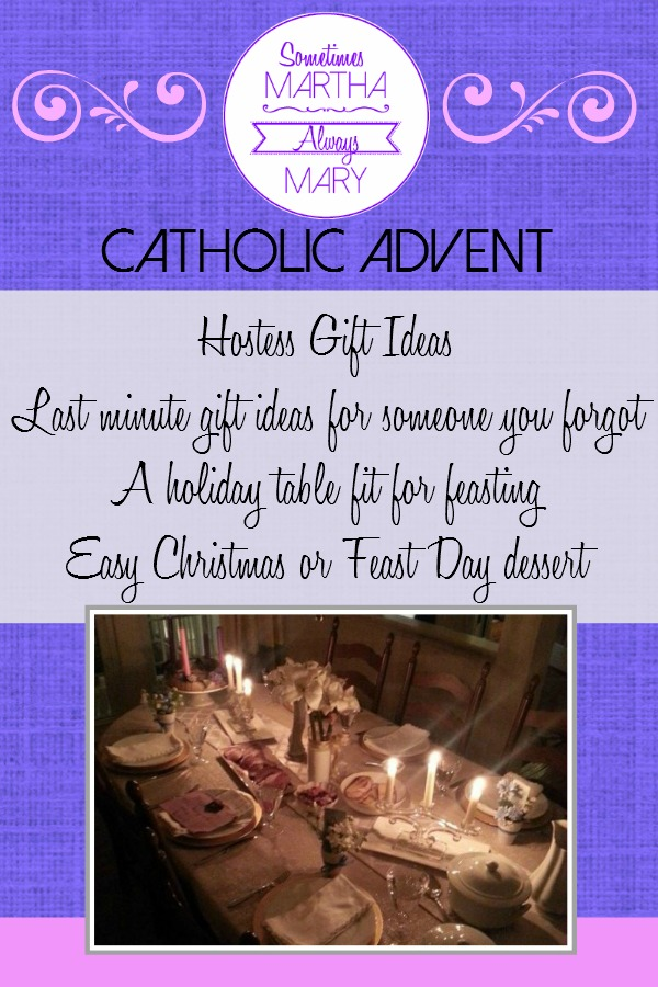 Catholic Advent Pinterest SMAM hostess