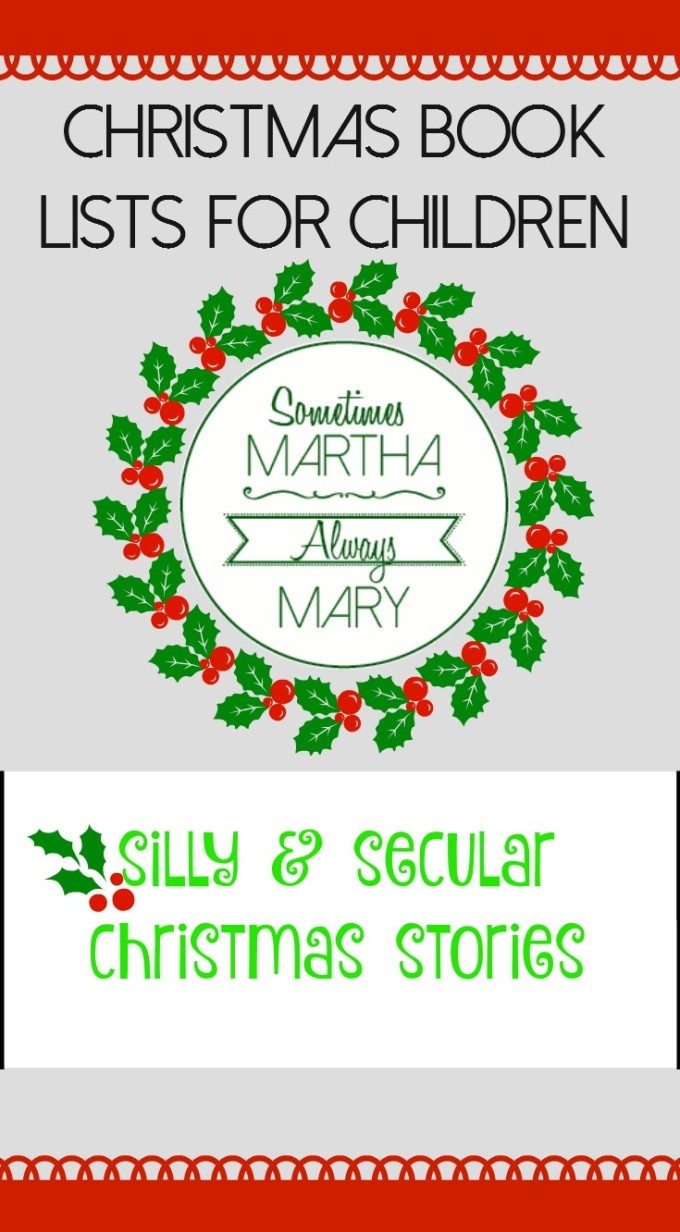 Christmas book lists for children SILLY smam Pinterest 2