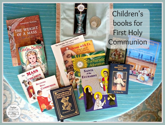 First Holy Communion Books title