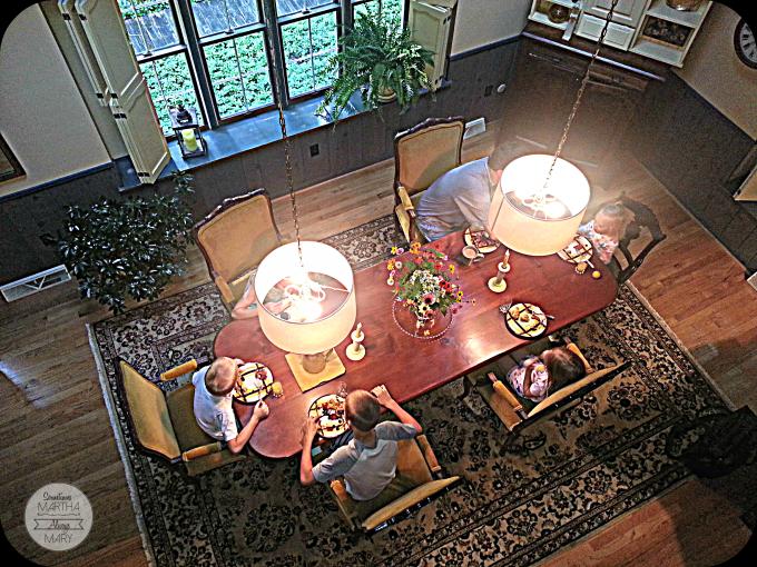 Grandmom & Grandad's dining room