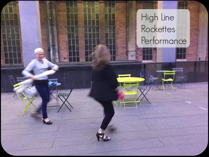 High Line Rockettes Performance