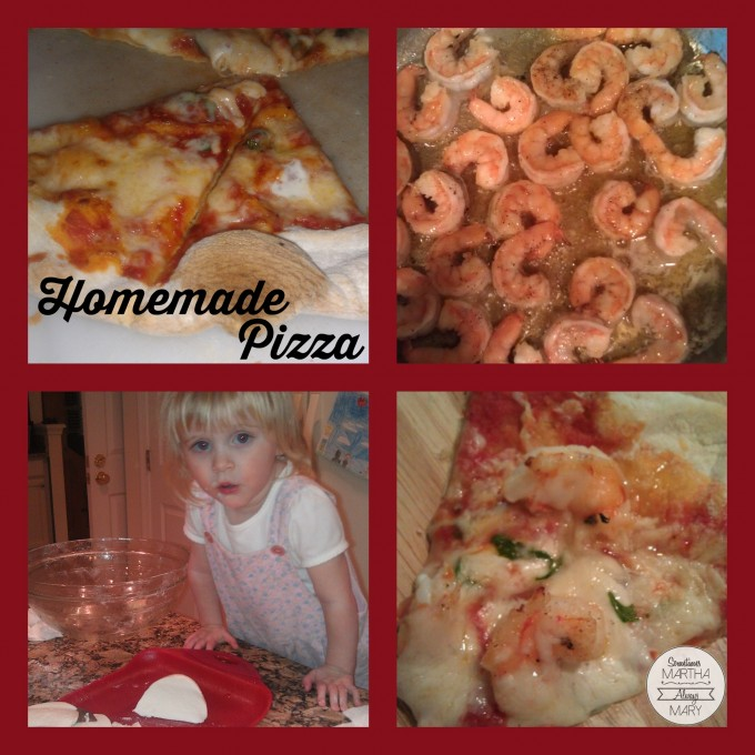 Homemade Pizza Collage