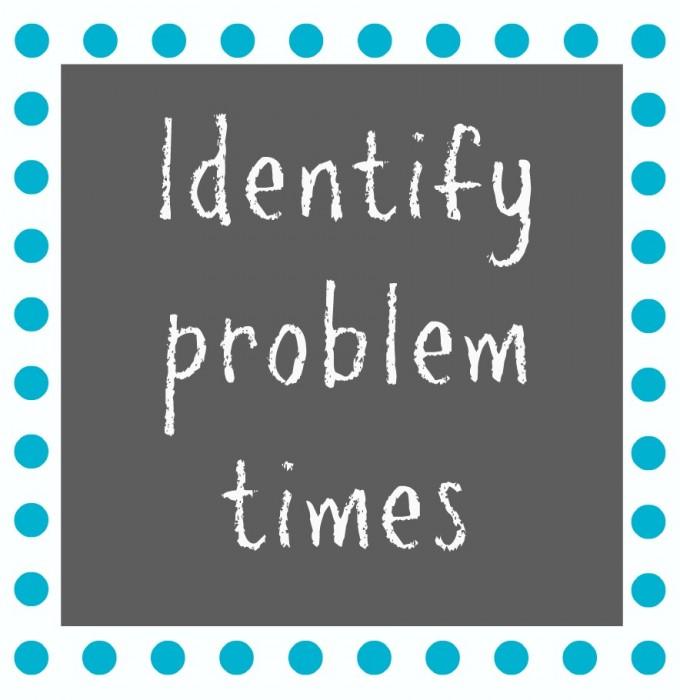 Identify Problem Times FINAL