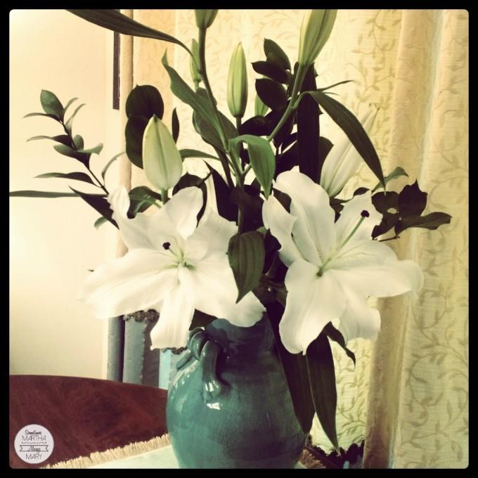 Lilies for St. Joseph