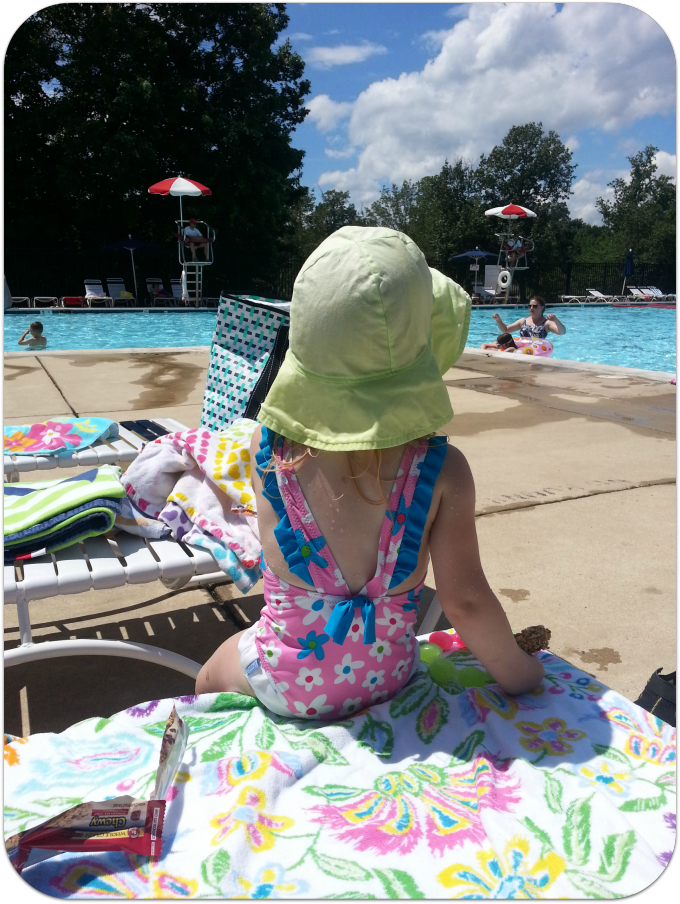 Little One Poolside