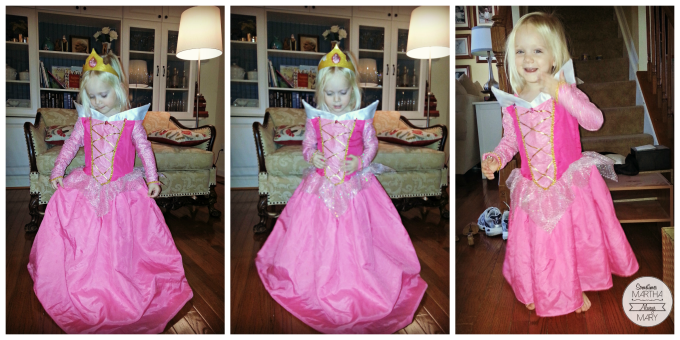 Little One Princess Dress collage SMAM