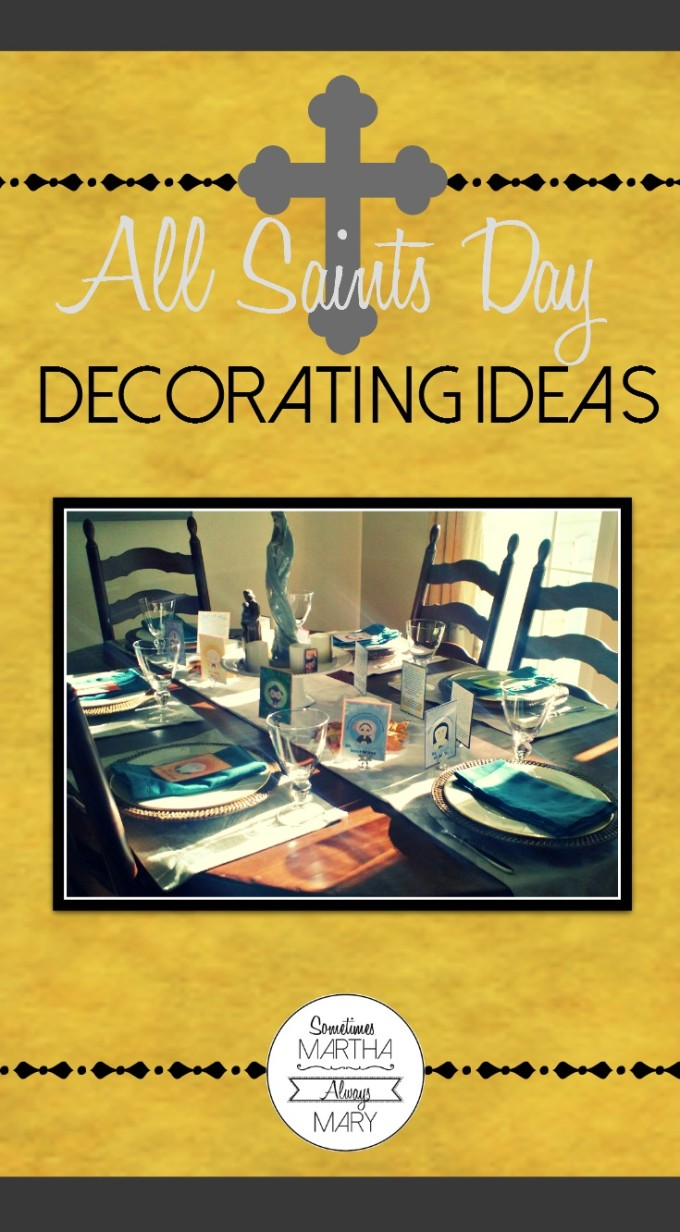 Pinterest All Saints Day Decorating Ideas GRAPHIC