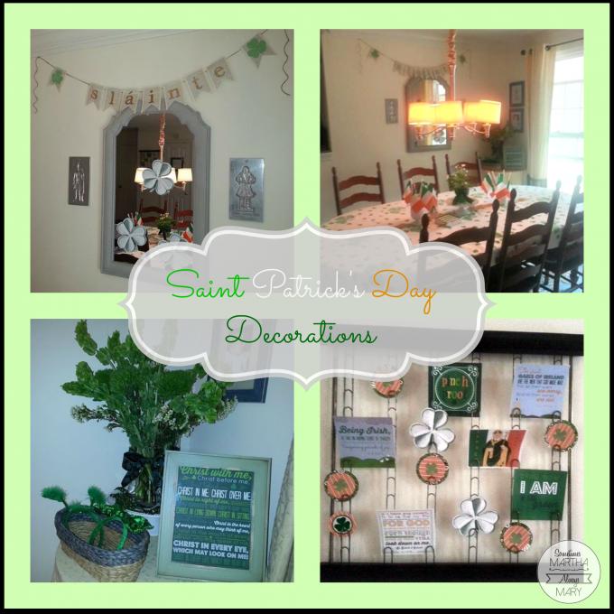 Saint Patrick's Day Decorations