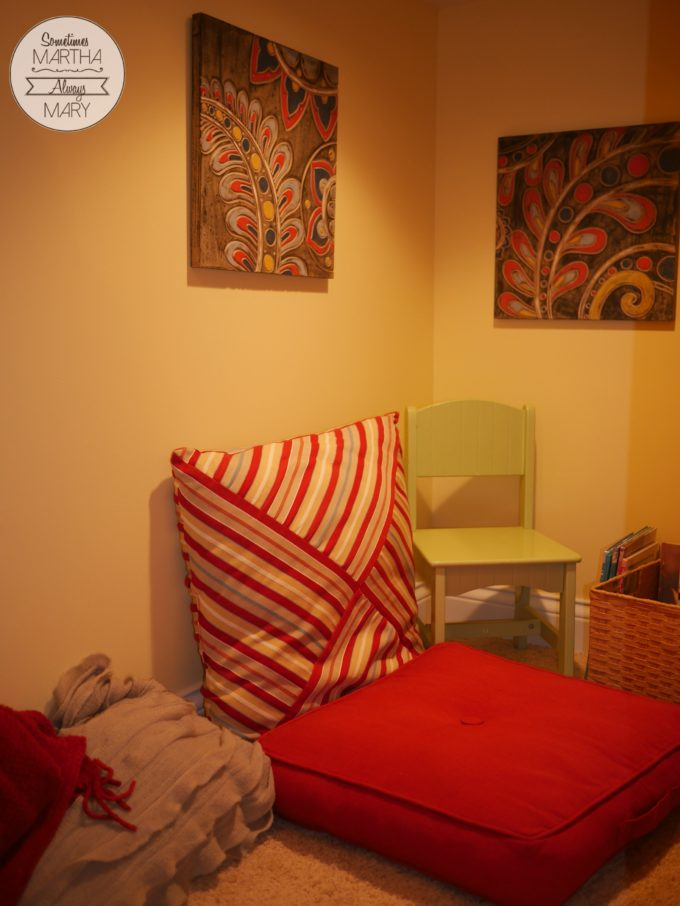 Secret Room corner