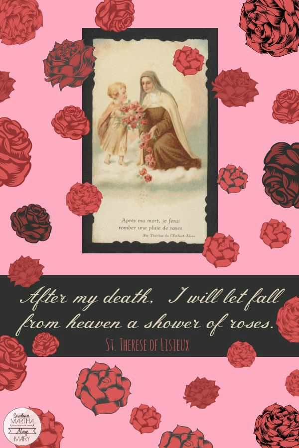 St. Therese Shower of Roses SMAM