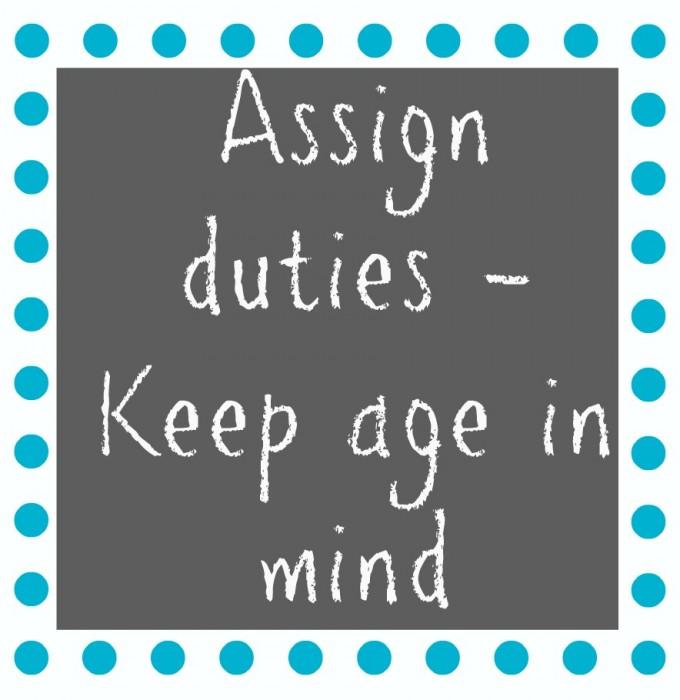 assign duties