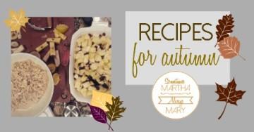 autumn recipes FB graphic