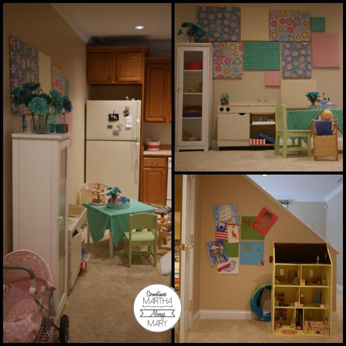 basement kitchen area SMAM