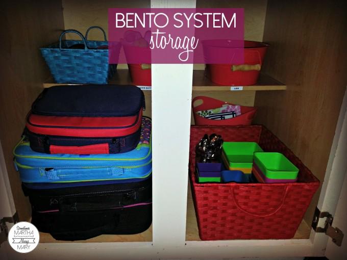 bento system storage