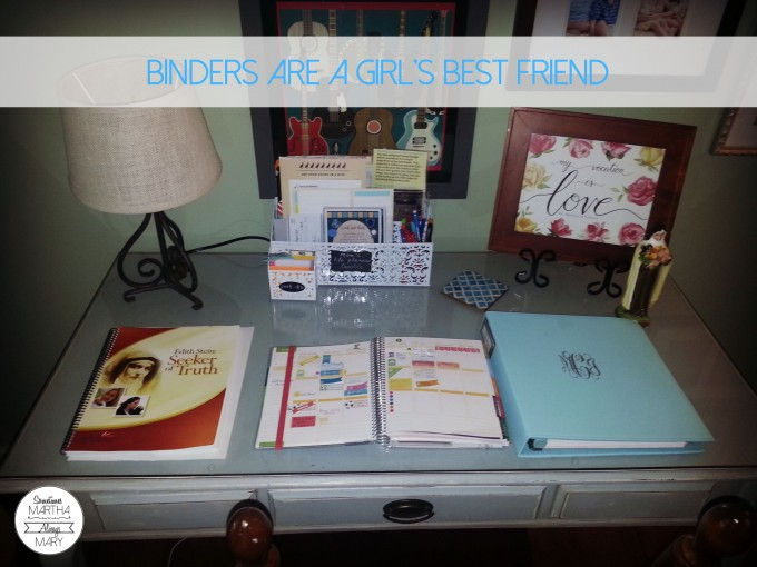 binders are a girl's best friend