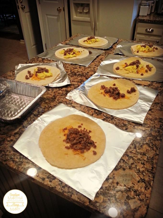 breakfast burritos SMAM
