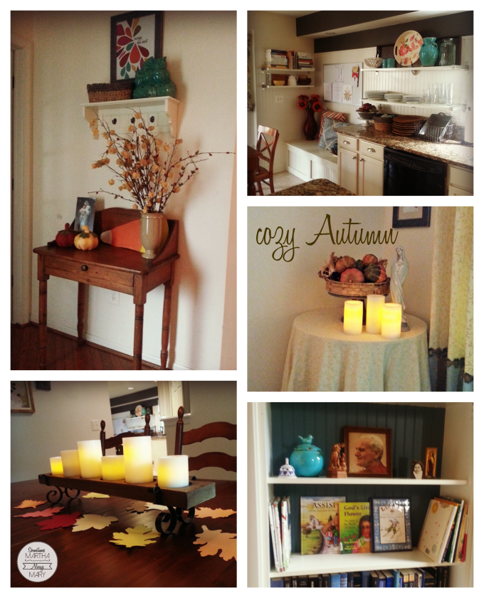 cozy autumn collage SMAM