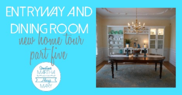 entryway and dining room FB graphic
