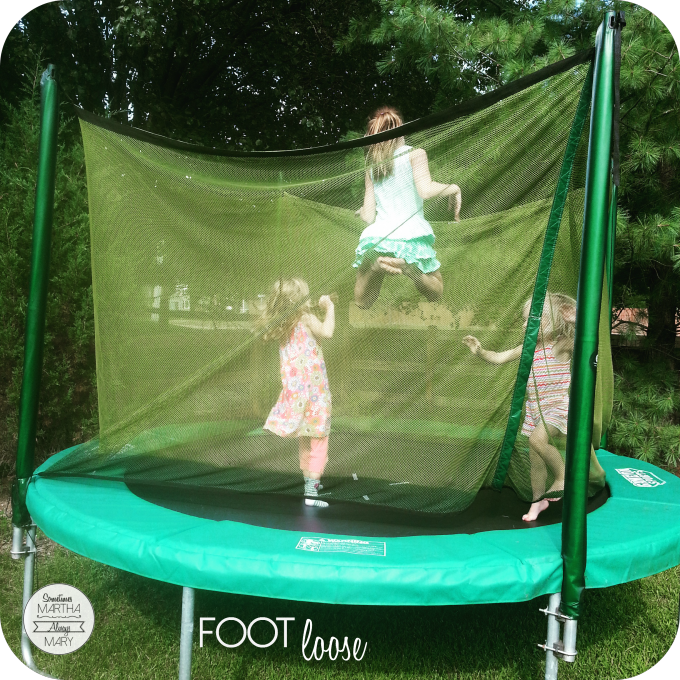 foot loose trampoline