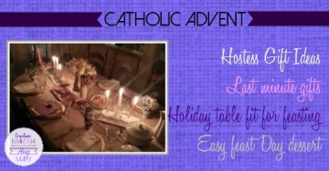 hostess catholoic advent FB SMAM