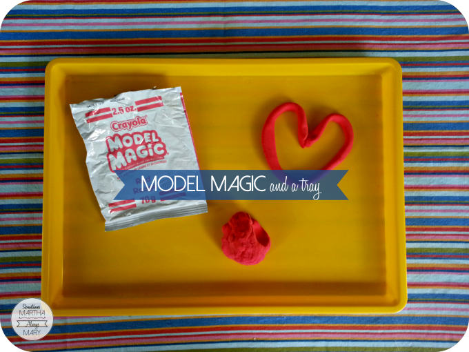 model magic and a tray