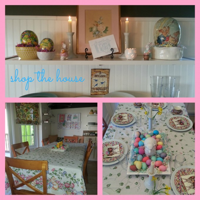 shop the house Easter