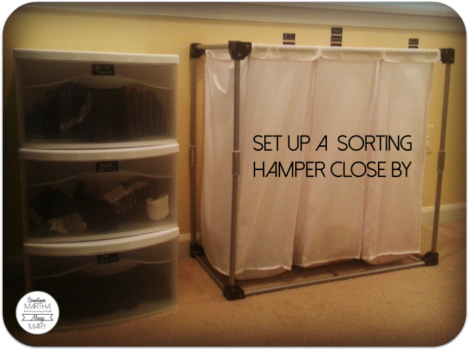 sorting hamper